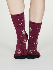uilen sokken dames