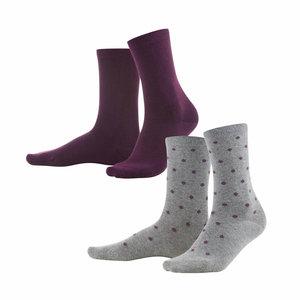 bio-katoenen sokken prunne
