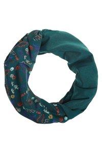 Loop sjaal bio katoen flower