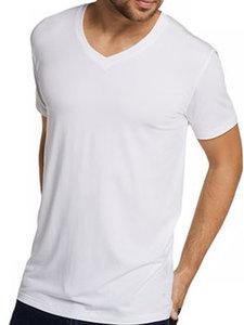 bamboe shirt wit