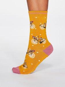sokken met damesfietsen
