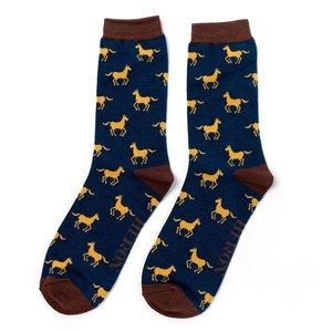 sokken met paarden print