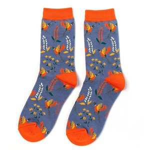 sokken fazanten print