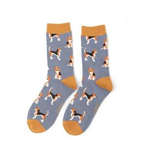 beagle honden damessokken