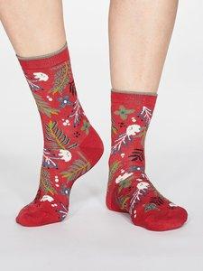 sokken coral Red