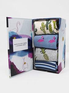 cadeaudoos dames sokken