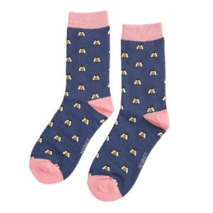 sokken bijen print
