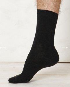 Hennep zwarte sokken