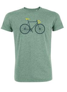 Sale Duurzaam XL fiets T shirt groen