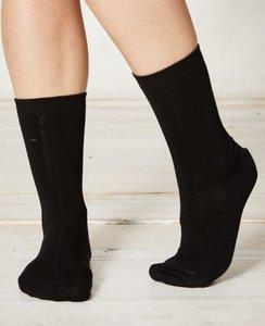 Bamboe zwarte sokken