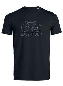 zwart fairtrade shirt met fiets
