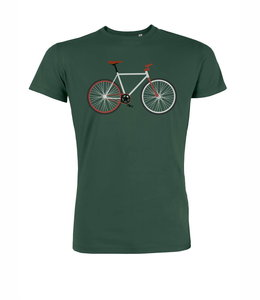 bottle green esay bike shirt Lotika