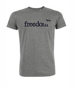 Freedom grijs shirt Lotika