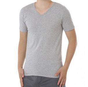 basic heren shirt grijs fair trade