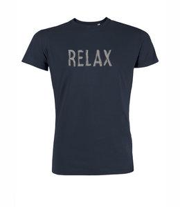 Sale duurzaam T shirt Relax navy