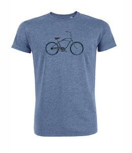 duurzaam blauw Greenbomb shirt