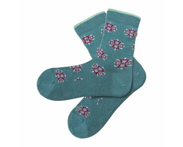 sale Bio katoenen sokken Lotus mint