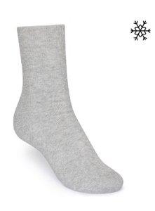 Bio katoenen sokken grijs ThokkThokk