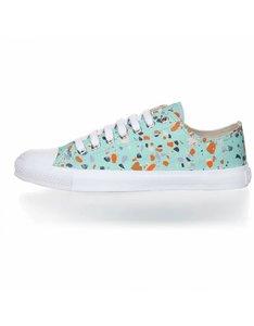 Terrazzo spearmint fair trade schoen bij lotika