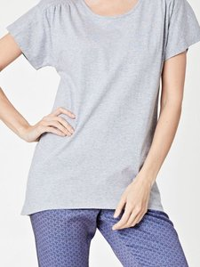 Sale Bio katoenen shirt Akebia grey marble