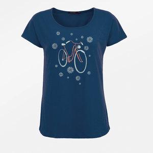greenbomb t shirt met fiets
