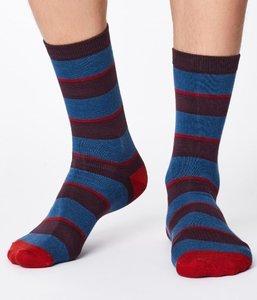 Bamboe Elfield sokken blue