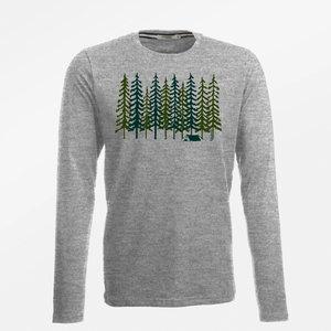 Greenbomb shirt grijs