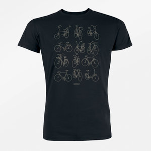 Duurzaam T shirt Bike retro bikes