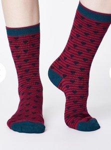 hartjes sokken van bamboe