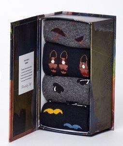 Bamboesokken set van 4 paar in cadeau doos Gentleman