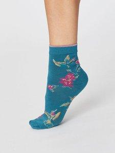 Modal Birdy kingfisher damessokken