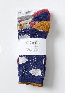 rainy days bamboe sokken