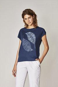 Tencel shirt blauw bij Lotika