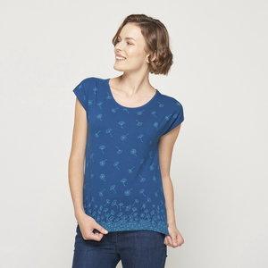 Bio-katoenen shirt Micelle poseidon floral