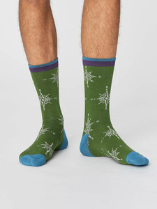 groene bamboe sokken