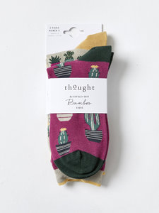 bamboe sokkenpakket cacti tropical