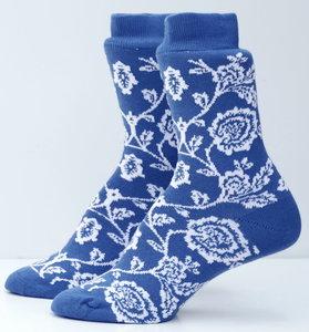 blauwe sokken Marie