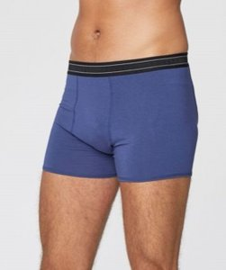 sapphire blue bamboe boxershort