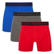 Bamboe-boxershorts-Rico-(3-pack)-Blauwgrijs-en-rood