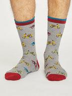 grijze bamboe sokken