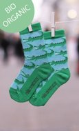 Bio katoenen sokken met krokodil