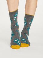 Bamboe-sokken-Foliage-grijs