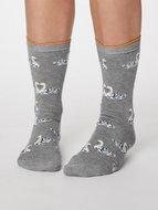 bamboe sokken met zwaan