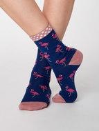 Bamboe-sokken-roze-flamingo-twilight-blue