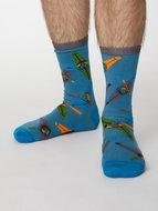 bamboe sokken met papegaaien