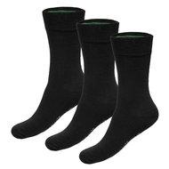 zwarte bamboe sokken