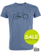 t-shirt bike blauw