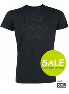 Sale duurzaam T shirt bike I feel good today