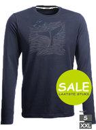 Wlvis print heren t-shirt