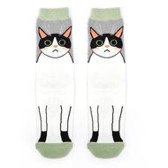 dames sokken katten print
